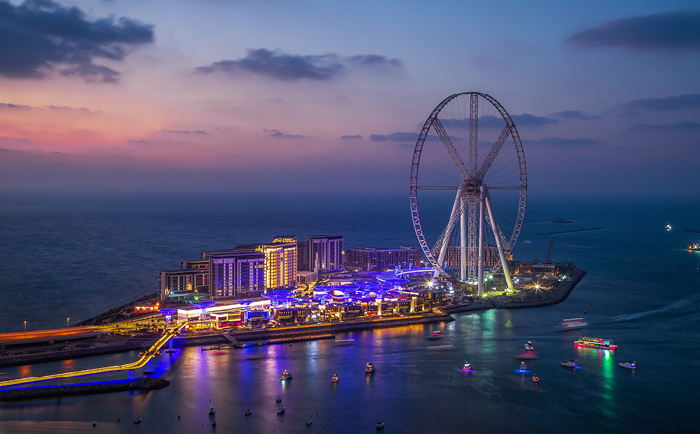 The launch of Dubai's first observation wheel
