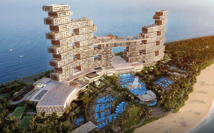 The opening of The Royal Atlantis Resort & Residences