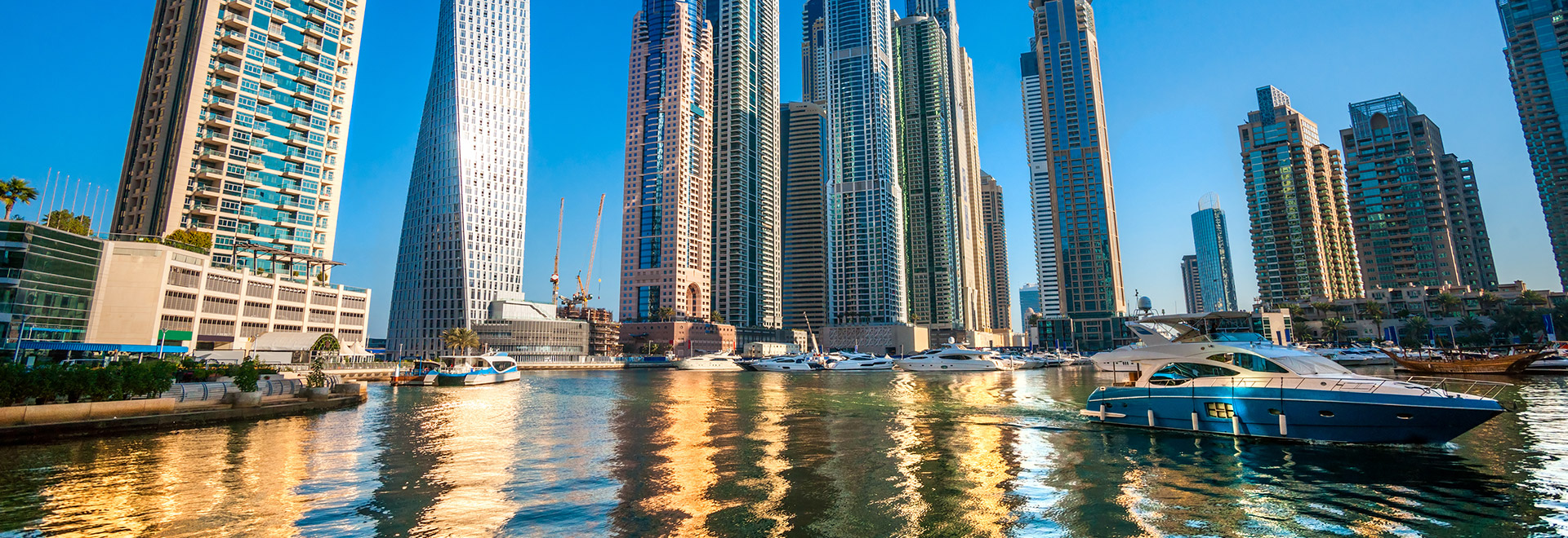 Dubai Marina And Jumeirah Beach Resort